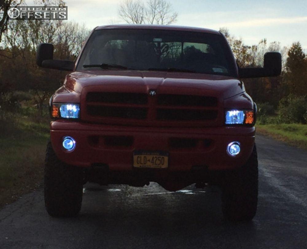 2 2000 Ram 1500 Dodge Suspension Lift 6 Vision Warrior Black Aggressive 1 Outside Fender