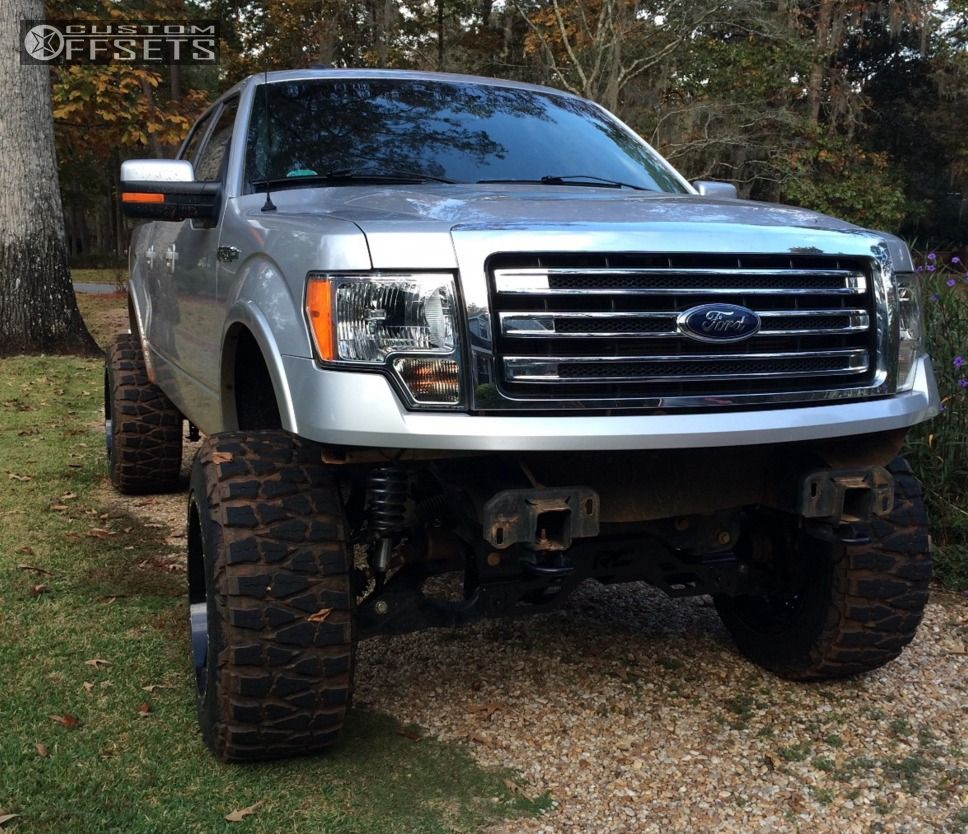 1 2013 F 150 Ford Suspension Lift 6 Fuel Nutz Machined Accents Hella Stance 5