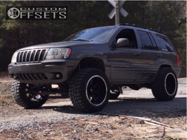 10 1999 Grand Cherokee Jeep Stock Suspension Lift 45in Vision Cannibal Black