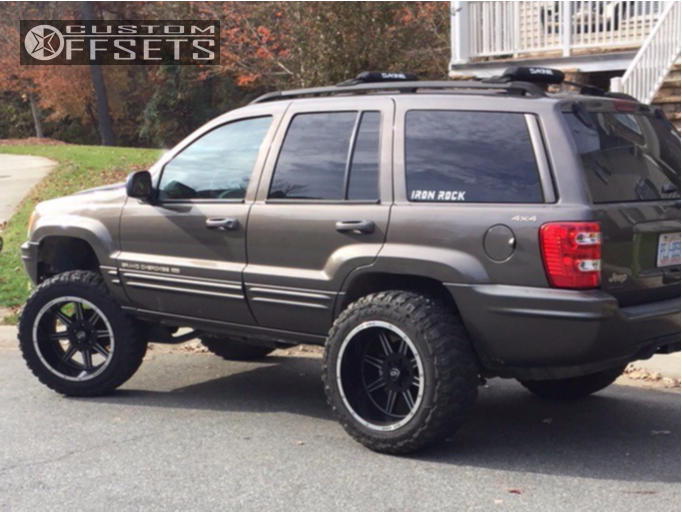 9 1999 Grand Cherokee Jeep Stock Suspension Lift 45in Vision Cannibal Black