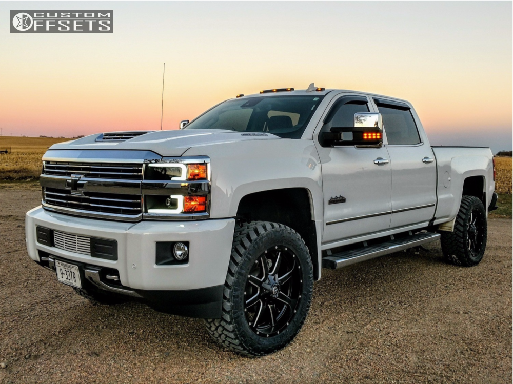 2017 chevrolet silverado 2500 hd fuel 538 stock leveling kit. Black Bedroom Furniture Sets. Home Design Ideas
