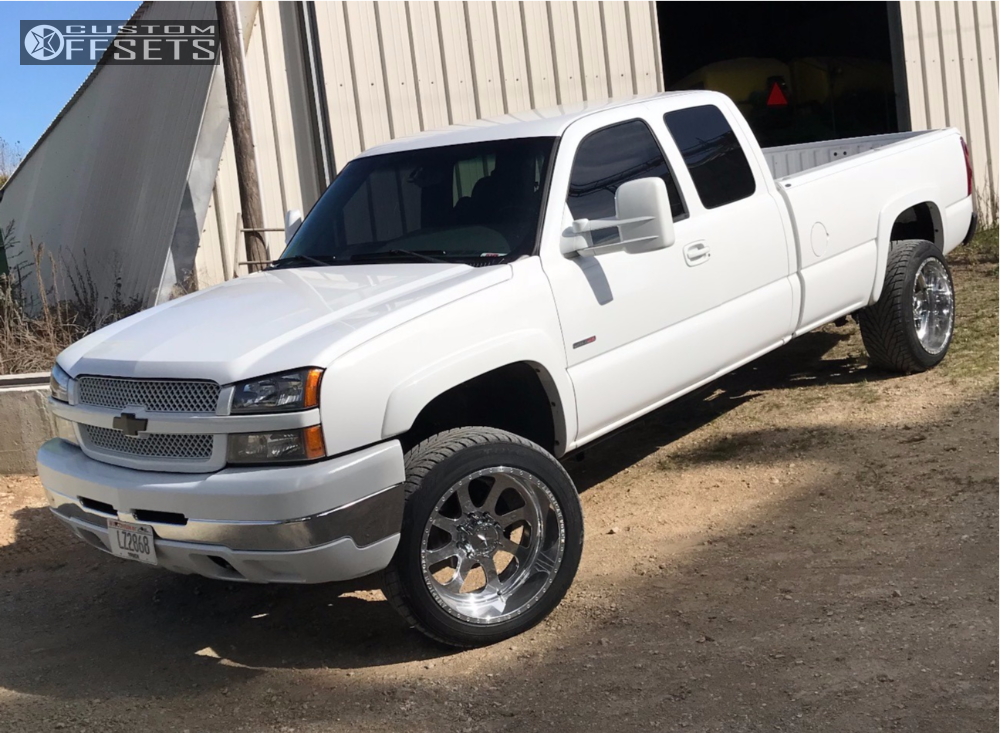1 2003 Silverado 2500 Hd Chevrolet Cognito Leveling Kit American Force Burnout Ss Polished