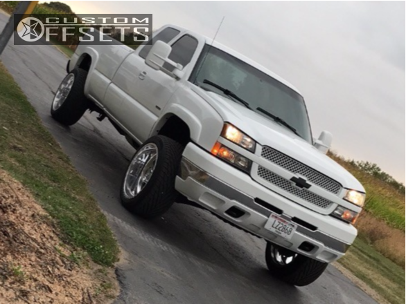 12 2003 Silverado 2500 Hd Chevrolet Cognito Leveling Kit American Force Burnout Ss Polished