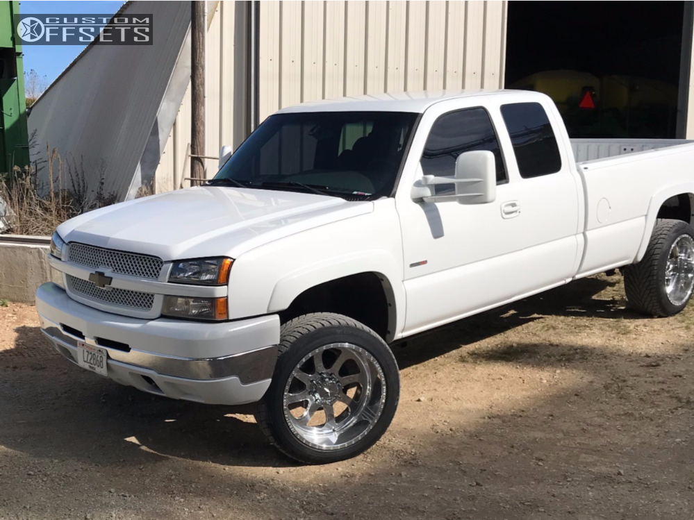 13 2003 Silverado 2500 Hd Chevrolet Cognito Leveling Kit American Force Burnout Ss Polished