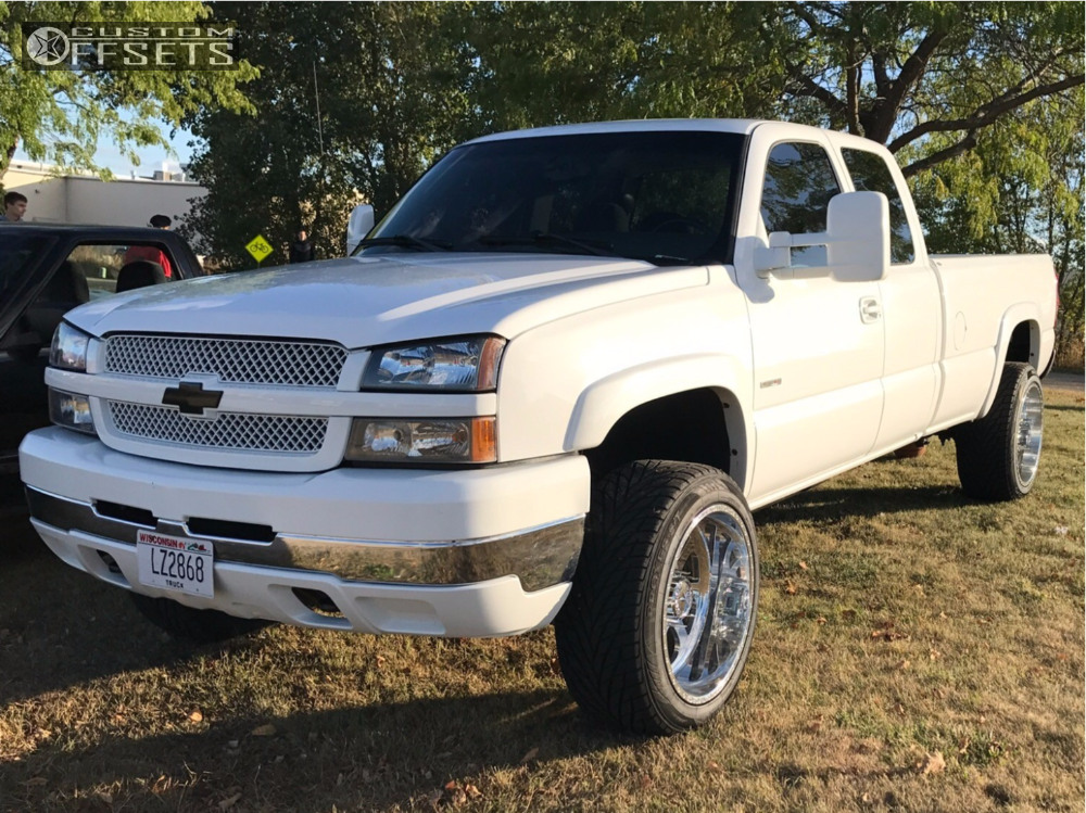 14 2003 Silverado 2500 Hd Chevrolet Cognito Leveling Kit American Force Burnout Ss Polished