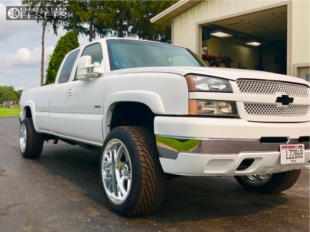 15 2003 Silverado 2500 Hd Chevrolet Cognito Leveling Kit American Force Burnout Ss Polished