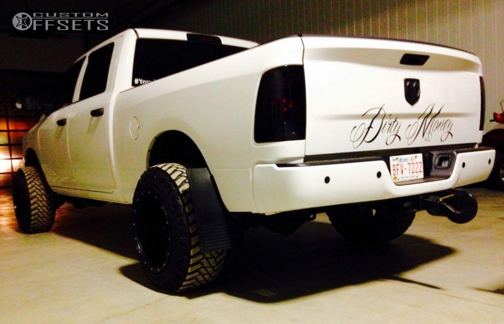 Wheel Offset 2014 Dodge Ram 2500 Hella Stance 5 Leveling Kit
