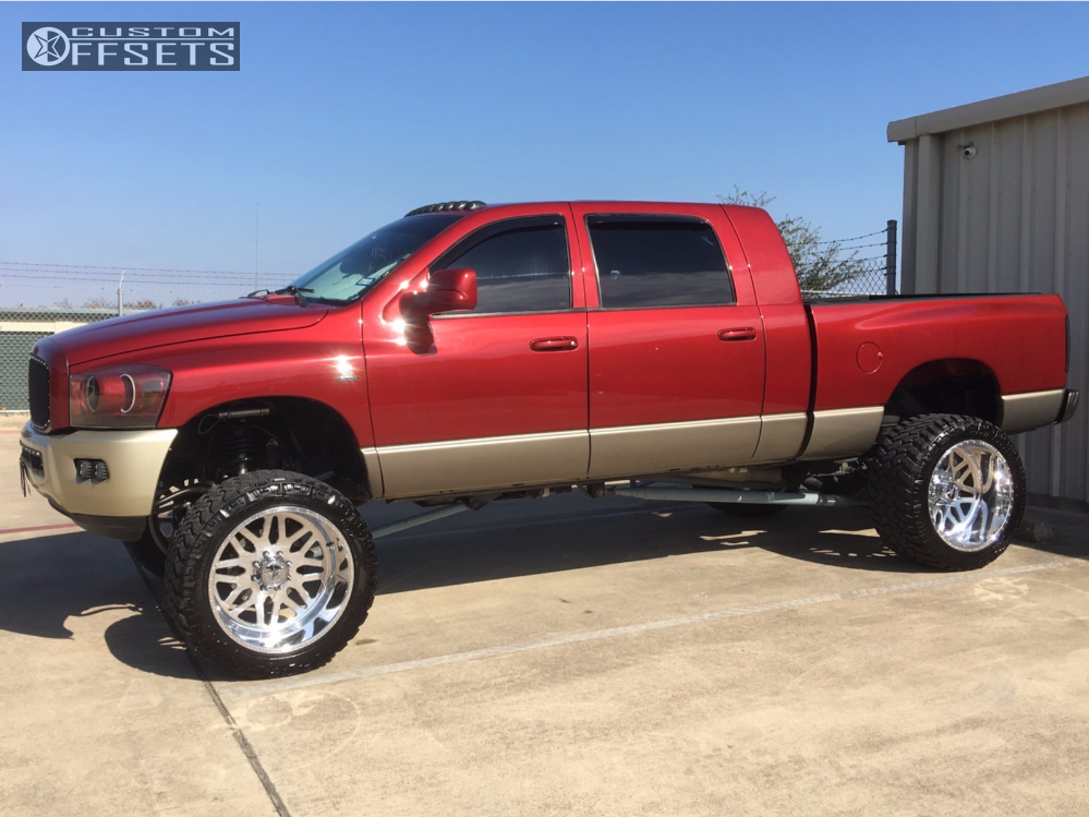 1 2009 Ram 2500 Dodge Bds Suspension Lift 8in American Force Trax Ss Polished