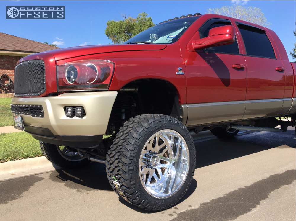 12 2009 Ram 2500 Dodge Bds Suspension Lift 8in American Force Trax Ss Polished