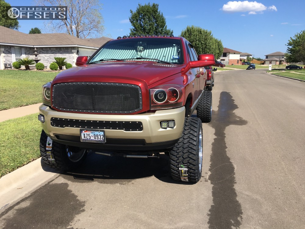 2 2009 Ram 2500 Dodge Bds Suspension Lift 8in American Force Trax Ss Polished