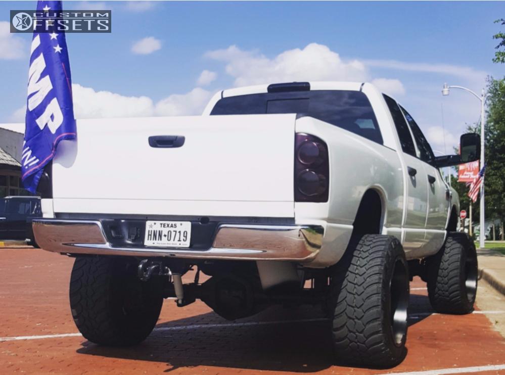 3 2008 Ram 2500 Dodge Zone Suspension Lift 5in Truxx Bomb Black
