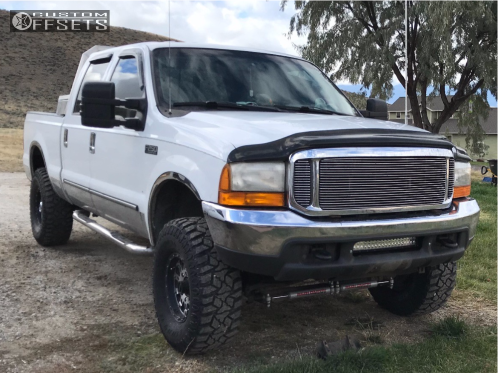 1 2001 F 250 Super Duty Ford Bilstein Leveling Kit Xd Hoss Machined Accents