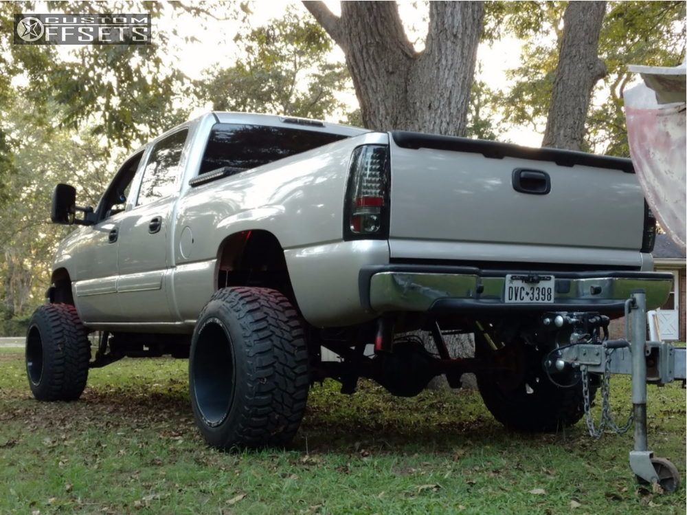 4 2005 Silverado 1500 Hd Classic Chevrolet Zone Suspension Lift 6in Fuel Turbo Machined Black