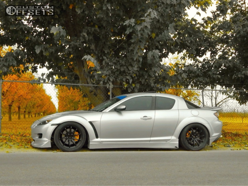 2007 Mazda Rx 8 Rays Engineering Ce28n Bc Racing Coilovers
