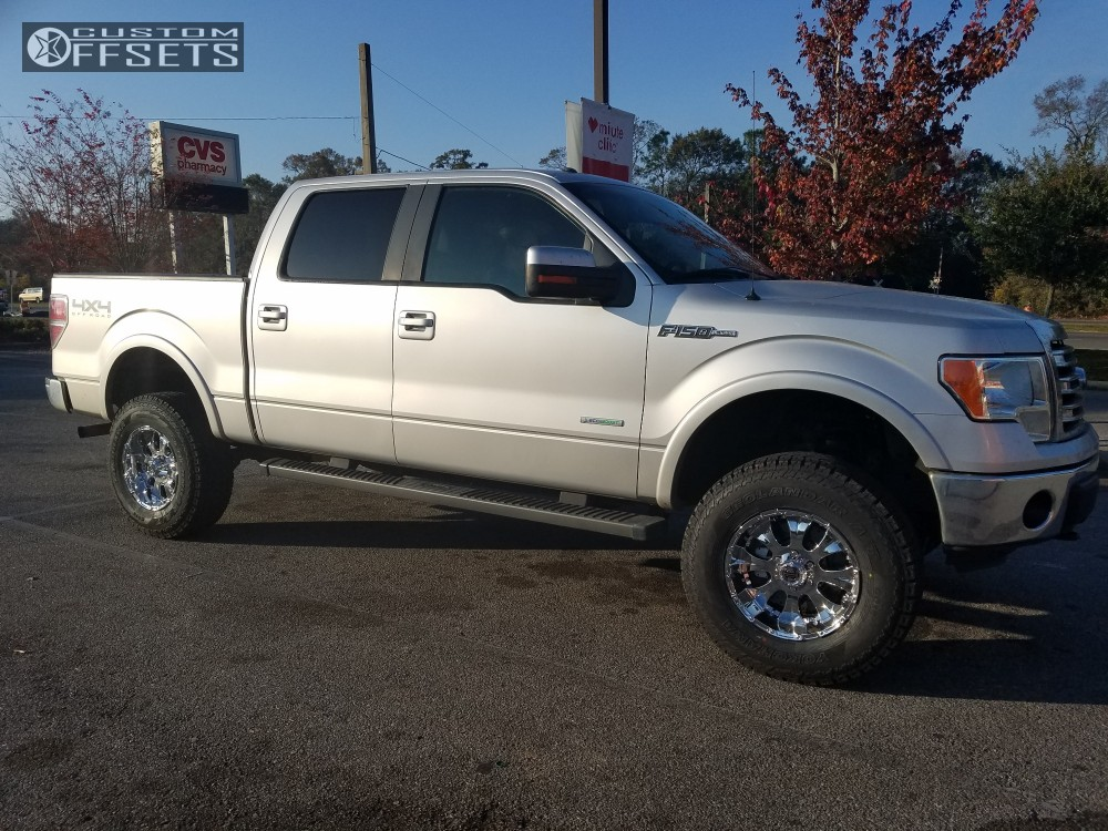 1 2013 F 150 Ford Rough Country Suspension Lift 4in 2crave Nx 2 Polished