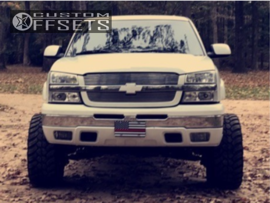 2 2005 Silverado 1500 Chevrolet Rough Country Suspension Lift 6in American True Vortex Chrome