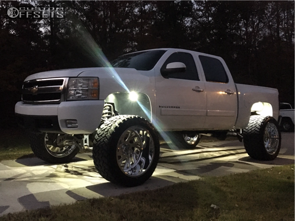 12 2008 Silverado 1500 Chevrolet Mcgaughys Suspension Lift 9in Specialty Forged Sf022 Polished