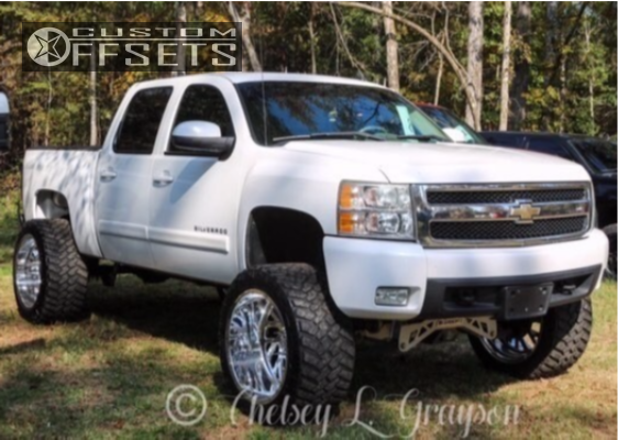 14 2008 Silverado 1500 Chevrolet Mcgaughys Suspension Lift 9in Specialty Forged Sf022 Polished