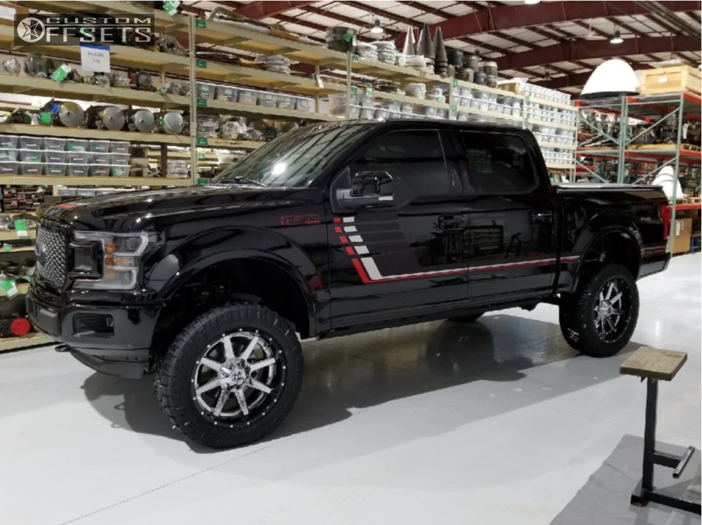 12 2018 F 150 Ford Bds Suspension Lift 6in Fuel Maverick Chrome