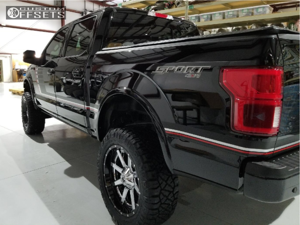4 2018 F 150 Ford Bds Suspension Lift 6in Fuel Maverick Chrome