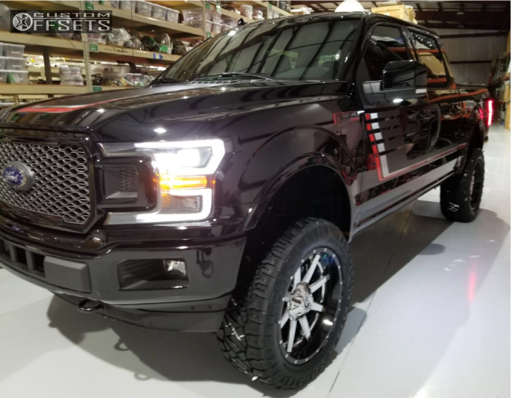 8 2018 F 150 Ford Bds Suspension Lift 6in Fuel Maverick Chrome