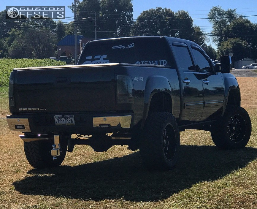 4 2008 Sierra 1500 Gmc Rough Country Suspension Lift 75in Xd Xd820 Black