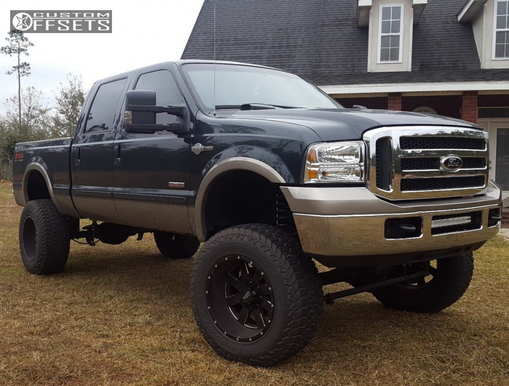 5 2005 F 350 Super Duty Ford Superlift Suspension Lift 8in Moto Metal Mo962 Black