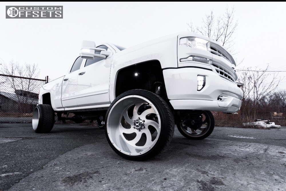 1 2017 Chevy Chevrolet Custom Suspension Lift 8in Xtreme Force Xf1 Custom
