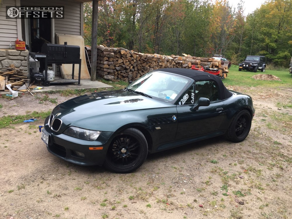 Bmw Z3 Wheel Offset Wheel Offset 2000 Bmw Z3 Nearly Flush Coilovers Bmw Z3 Brake Pad