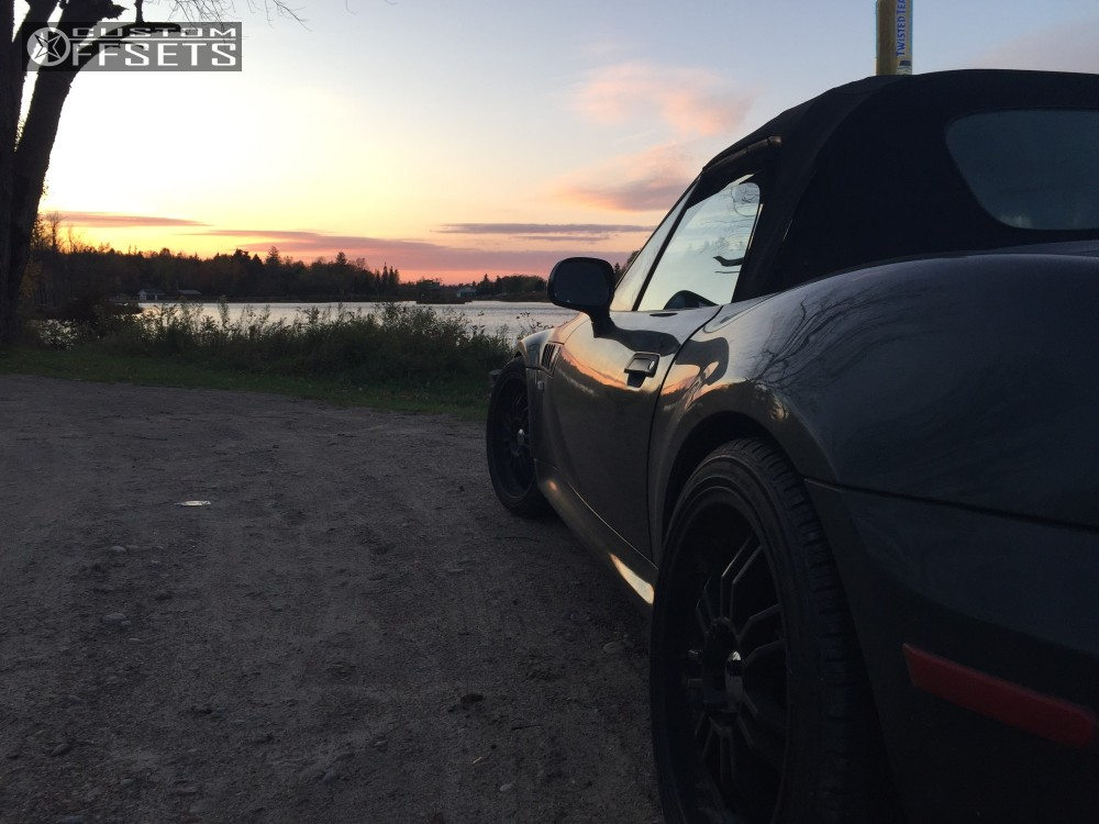 Wheel Offset 2000 Bmw Z3 Nearly Flush Coilovers
