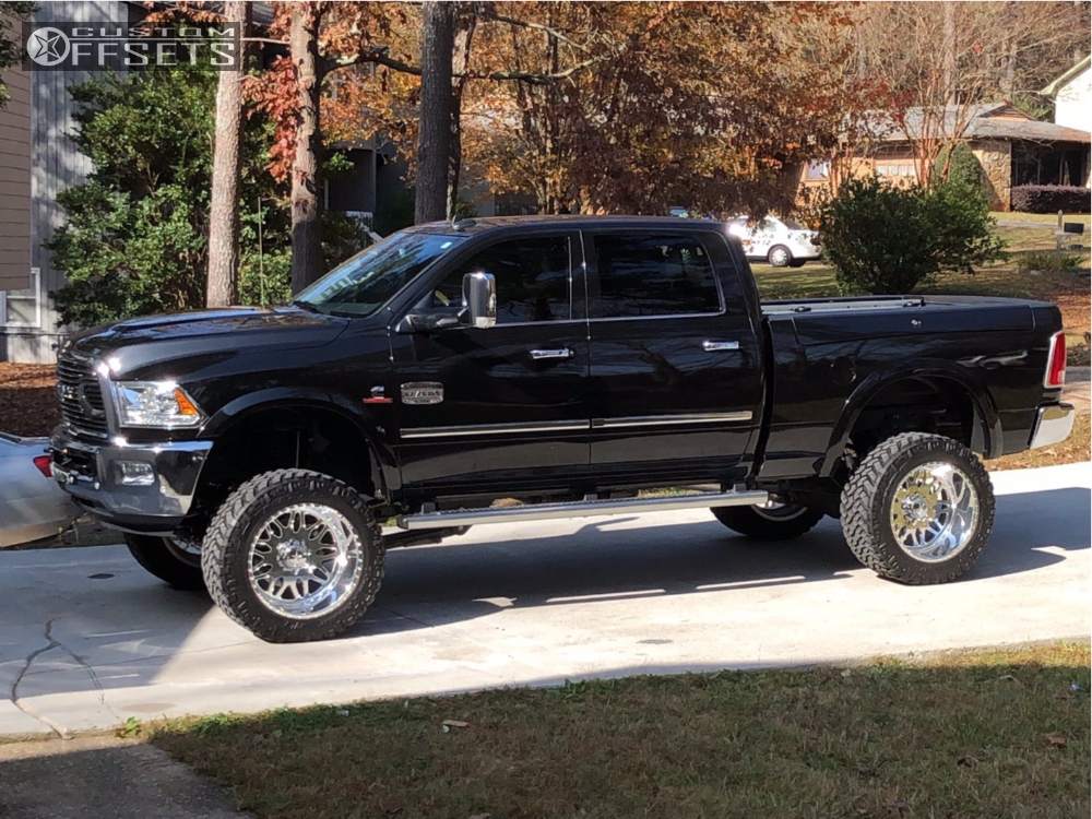 1 2016 2500 Ram Bds Lowered 4f 6r American Force Aka Ss Polished