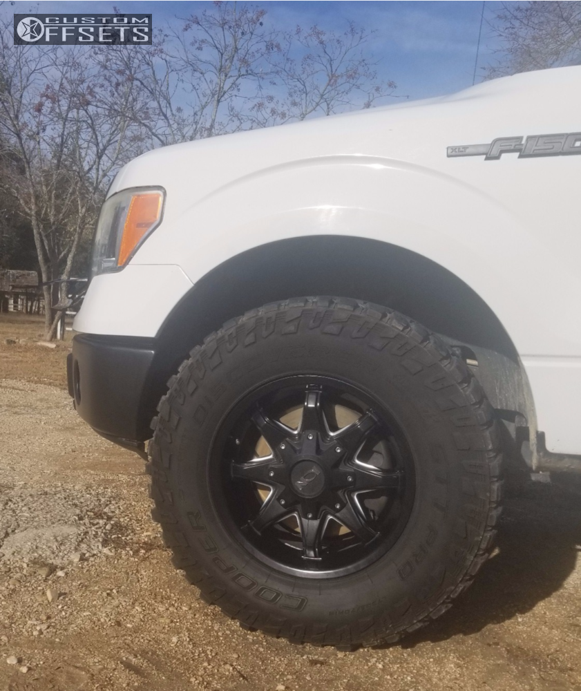 2010 Ford F 150 Alloy Ion Style 181 Rough Country Leveling Kit