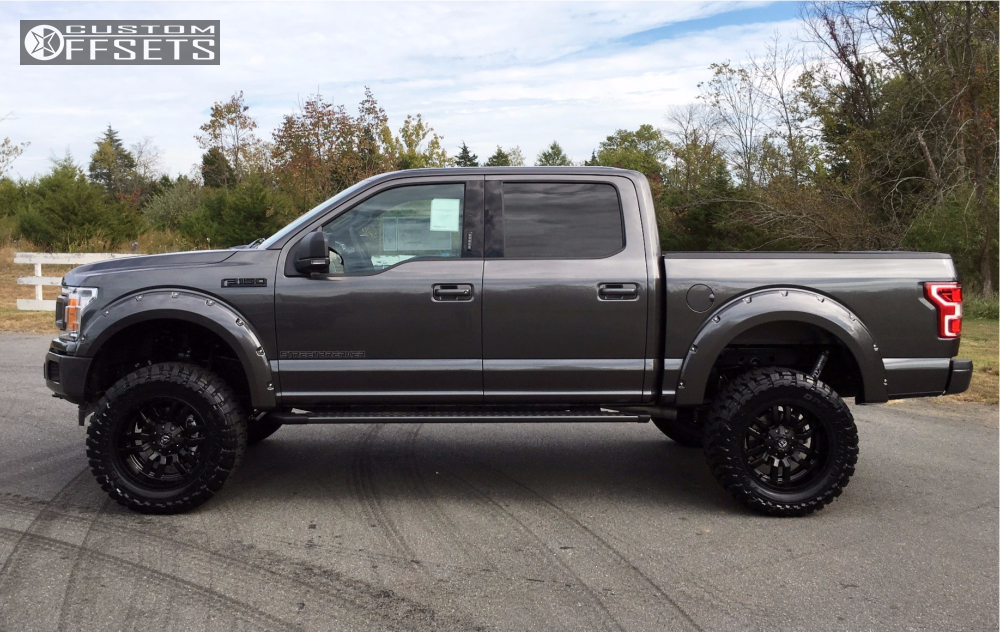 2018 Ford F 150 Fuel Sledge Bds Suspension Suspension Lift 6in