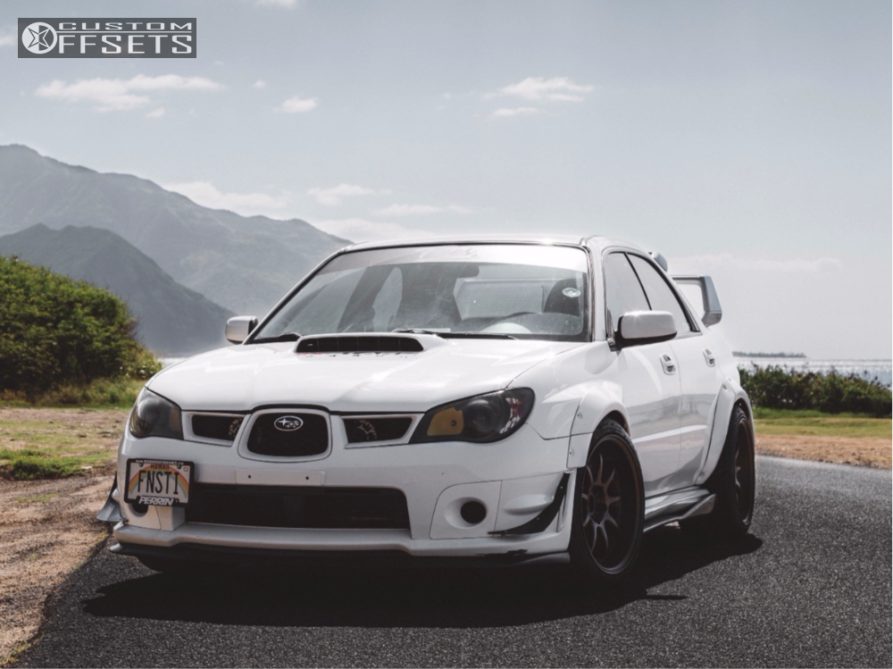 2006 subaru wrx sti work d9r bc racing coilovers. Black Bedroom Furniture Sets. Home Design Ideas