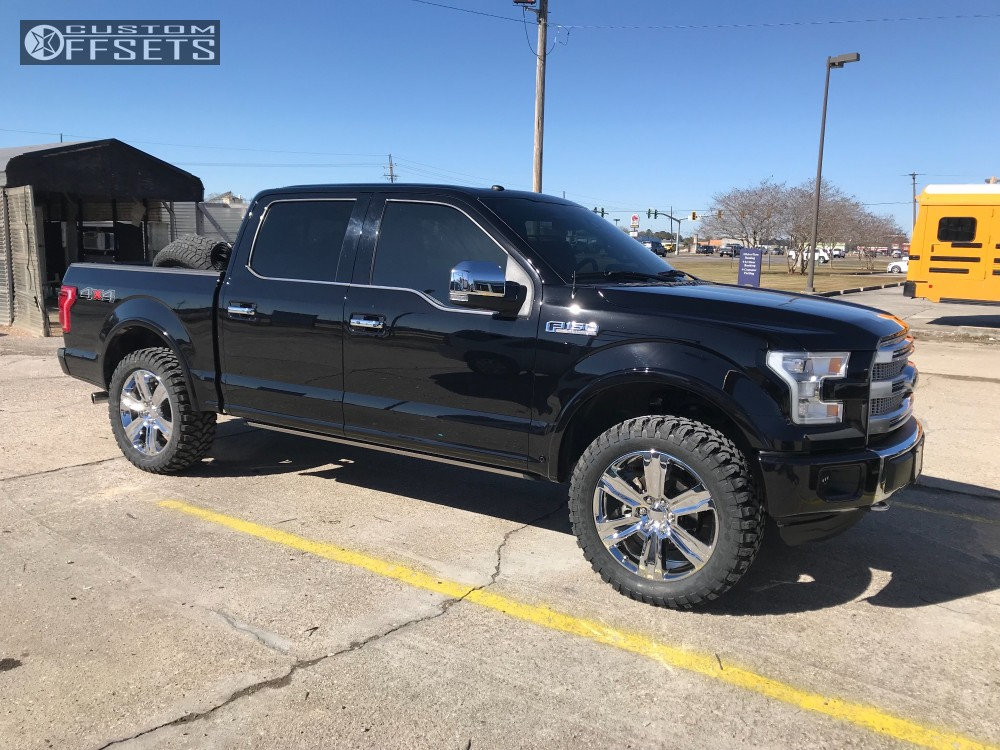 Ford Rough Country Leveling Kit Oe Performance  Chrome