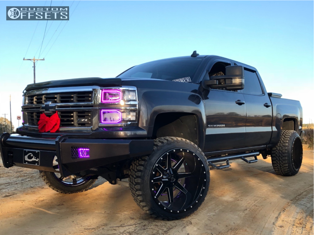 1 2015 Silverado 1500 Chevrolet Fab Tech Suspension Lift 6in Extreme Mudders Other Black