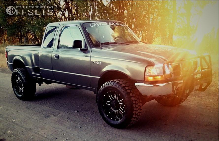 1999 Ford Ranger Gear Alloy Big Block Forgot Suspension Lift 3in