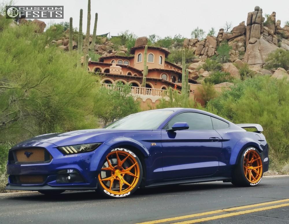 2015 Ford Mustang Rohana Rfx5 Eibach Lowering Springs