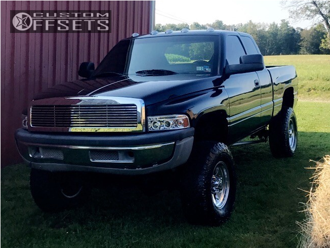 1 1999 Ram 2500 Dodge Zone Suspension Lift 5in Ion Alloy Style 183 Chrome