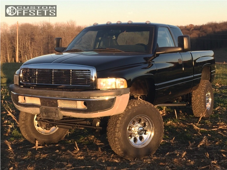 2 1999 Ram 2500 Dodge Zone Suspension Lift 5in Ion Alloy Style 183 Chrome