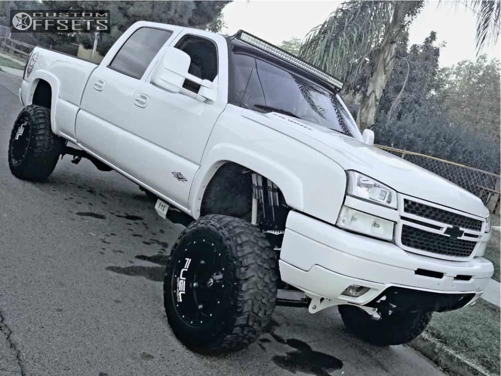 1 2005 Silverado 1500 Hd Chevrolet Full Throttle Suspension Lift 9in Fuel Hostage Black