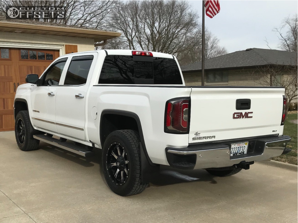 2017 Gmc Sierra 1500 Hd Fuel Nutz Rough Country Leveling Kit