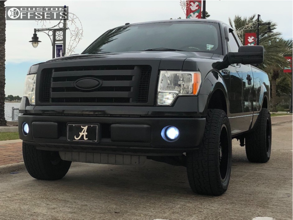 1 2013 F 150 Ford Rough Country Leveling Kit Panther Offroad 580 Black