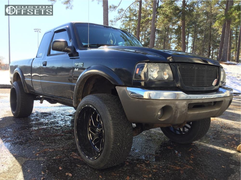 2002 Ford Ranger Fuel Triton Pro Comp Leveling Kit Body Lift