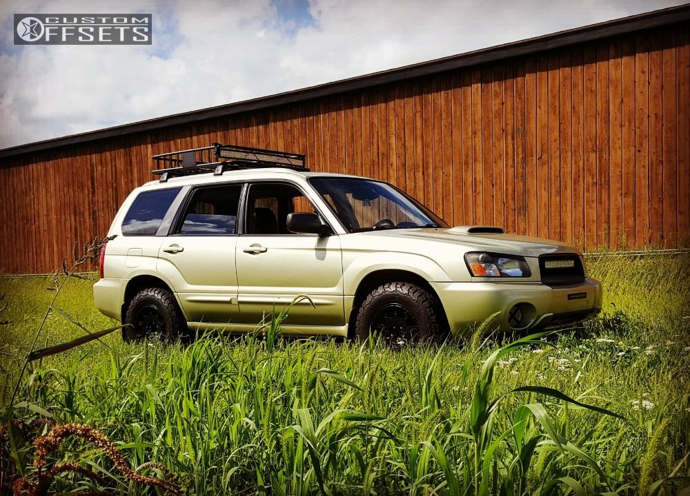 Lifted Subaru Forester >> 2004 Subaru Forester Method Mr502 Subaru Lifted Custom Offsets