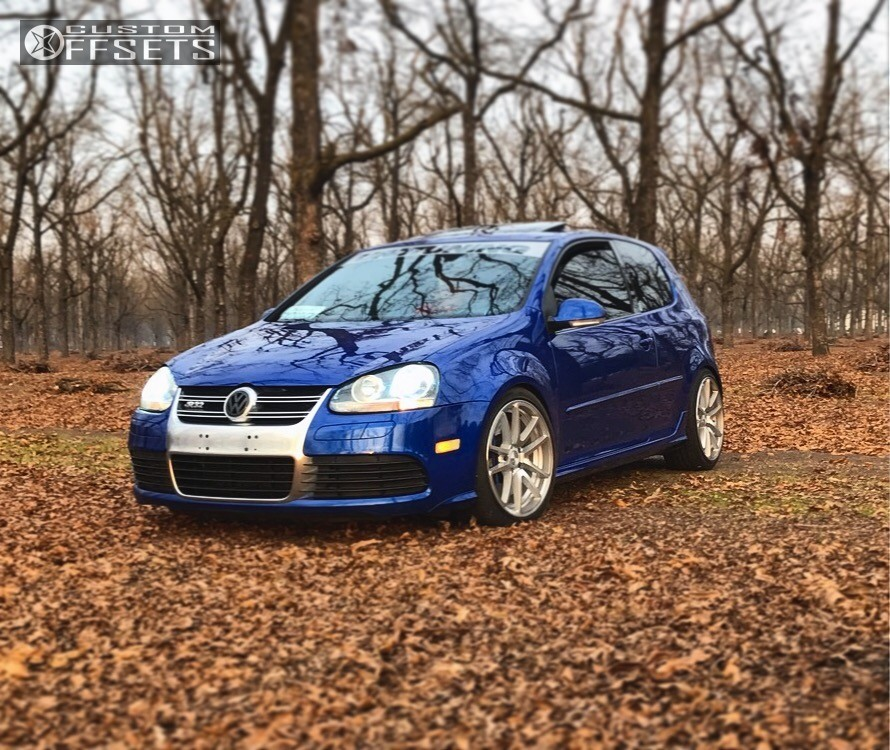 Lowered Mk4 R32: 2008 Volkswagen R32 Rotiform Spf Hr Lowering Springs