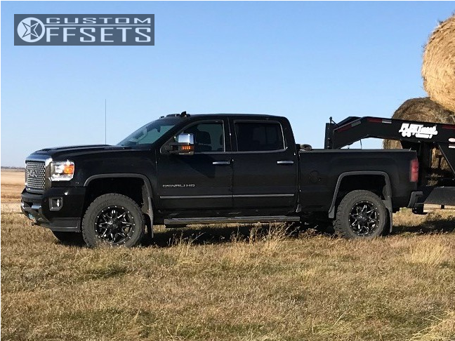2017 Gmc Sierra 3500 Hd Fuel Lethal Cognito Leveling Kit