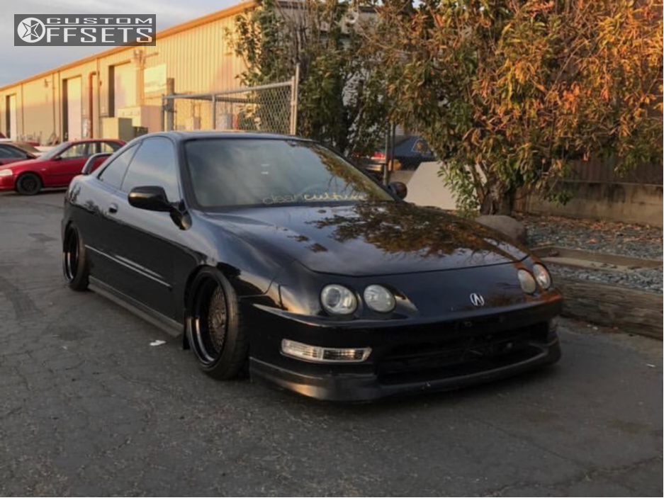 1 1999 Integra Acura Function And Form Coilovers Klutch Sl1 Black
