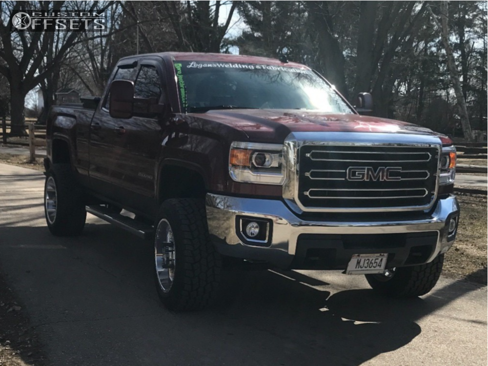 1 2015 Sierra 2500 Hd Gmc Stock Stock American Force Trax Ss Polished