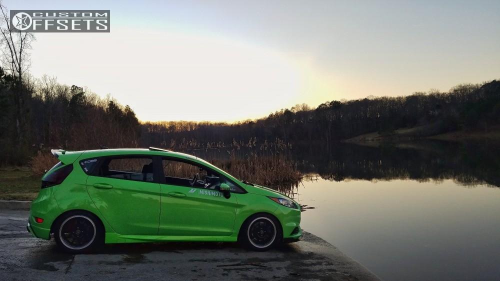 2014 Ford Fiesta Enkei J10 Hr Lowering Springs